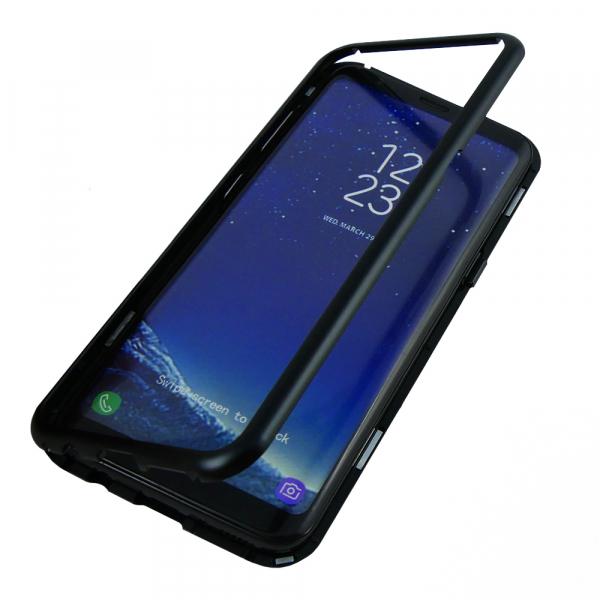 Husa 360 Magnetic Case pentru Samsung Galaxy S8 Plus, Negru 2