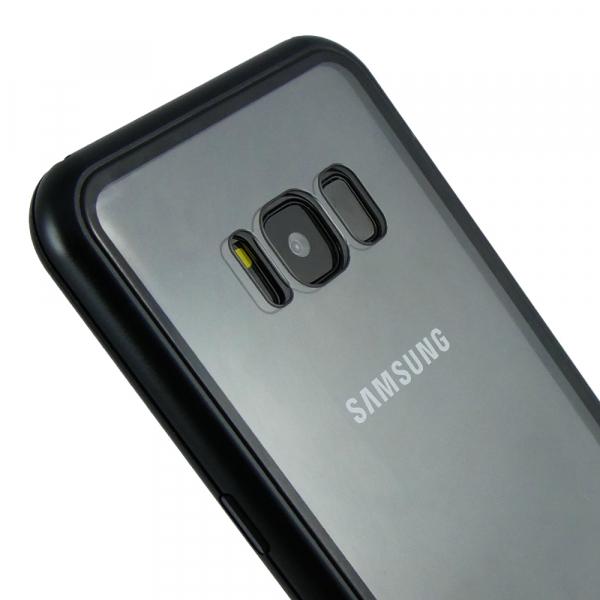 Husa 360 Magnetic Case pentru Samsung Galaxy S8 Plus, Negru 4