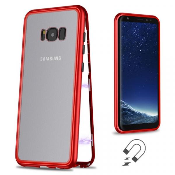 Husa 360 Magnetic Case pentru Samsung Galaxy S8 Plus, Red 1