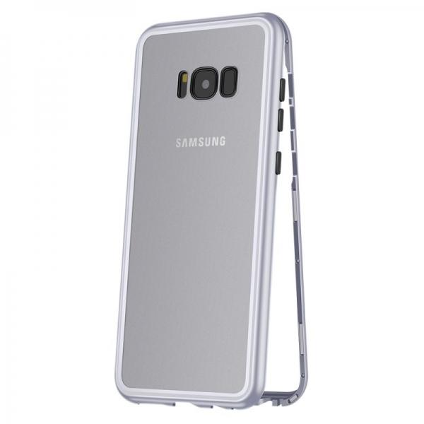 Husa 360 Magnetic Case pentru Samsung Galaxy S8, Silver 0