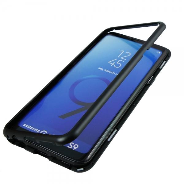 Husa 360 Magnetic Case pentru Samsung Galaxy S9, Negru 2