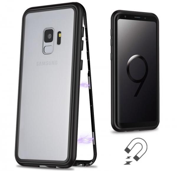 Husa 360 Magnetic Case pentru Samsung Galaxy S9, Negru 1