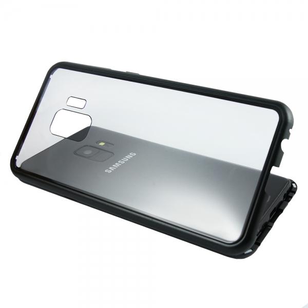 Husa 360 Magnetic Case pentru Samsung Galaxy S9, Negru 3