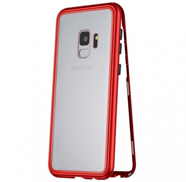 Husa 360 Magnetic Case pentru Samsung Galaxy S9 Plus, Red 0