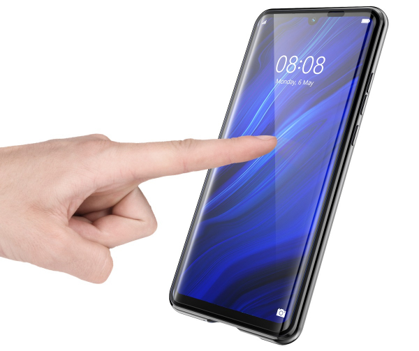 Husa 360 Magnetic Glass (sticla fata + spate) pentru Huawei P30, Negru 2