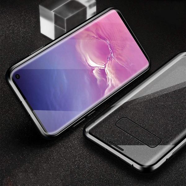 Husa 360 Magnetic Glass (sticla fata + spate) pentru Samsung Galaxy S10, Negru [3]