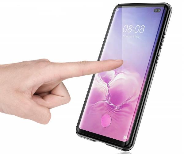 Husa 360 Magnetic Glass (sticla fata + spate) pentru Samsung Galaxy S10+, Negru 1