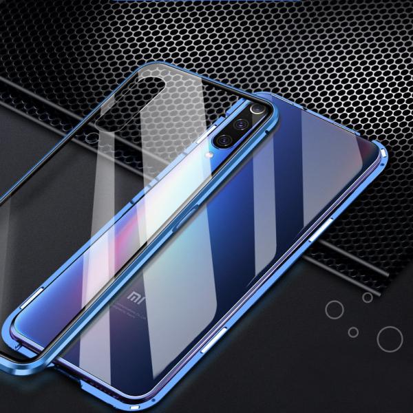 Husa 360 Magnetic Glass (sticla fata + spate) pentru Xiaomi Mi 9, Albastru 3