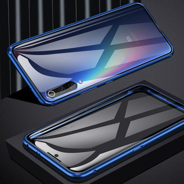 Husa 360 Magnetic Glass (sticla fata + spate) pentru Xiaomi Mi 9, Albastru 4