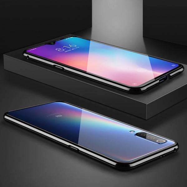 Husa 360 Magnetic Glass (sticla fata + spate) pentru Xiaomi Mi 9, Negru 3