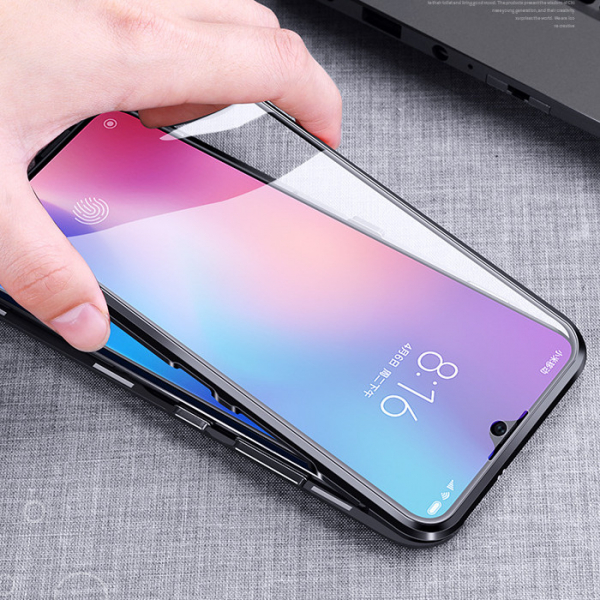 Husa 360 Magnetic Glass (sticla fata + spate) pentru Xiaomi Mi 9, Negru 2