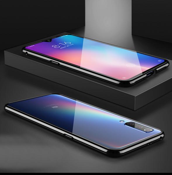 Husa 360 Magnetic Glass (sticla fata + spate) pentru Xiaomi Mi 9 SE, Negru 3