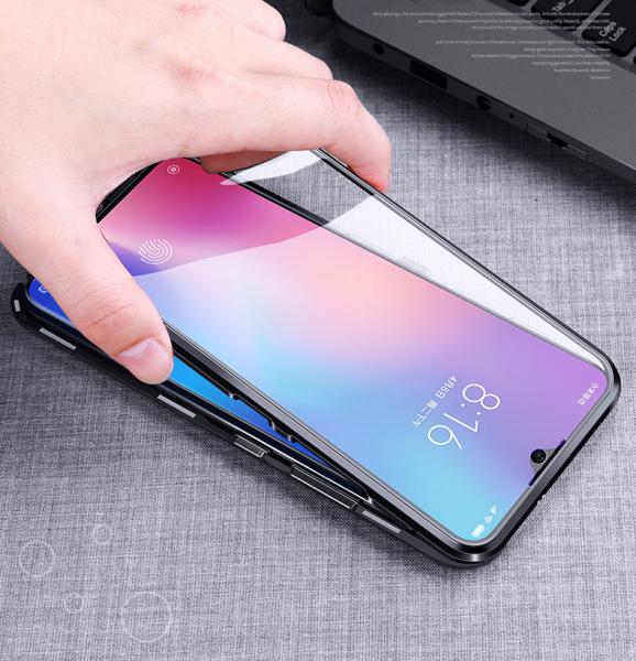 Husa 360 Magnetic Glass (sticla fata + spate) pentru Xiaomi Mi 9 SE, Negru [2]