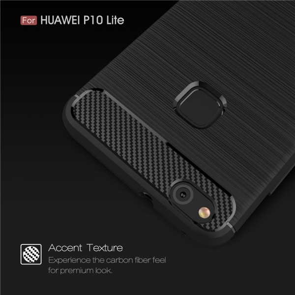 Husa Air Carbon Huawei P10 Lite, Negru 2