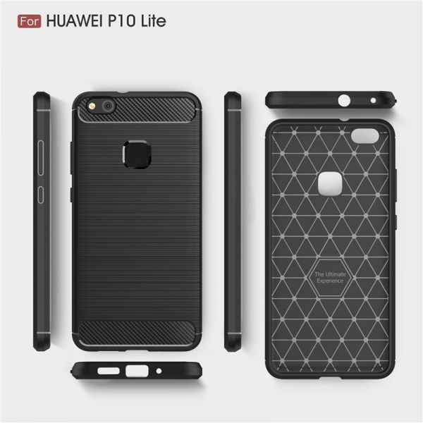 Husa Air Carbon Huawei P10 Lite, Negru 1