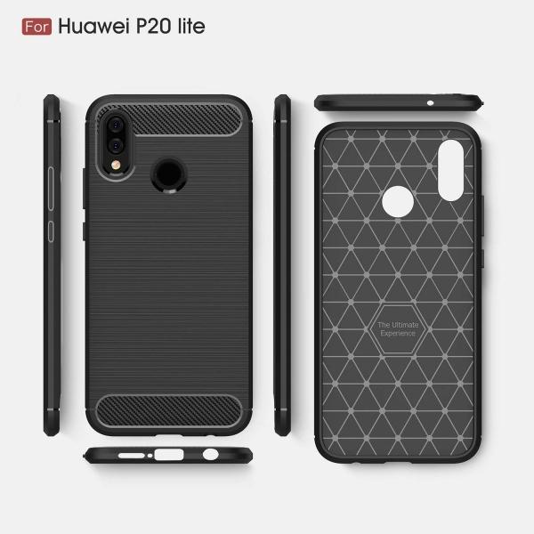Husa Air Carbon Huawei P20 Lite, Negru 1