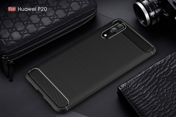 Husa Air Carbon Huawei P20, Negru 1