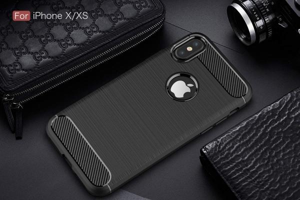Husa Air Carbon iPhone X, Negru 1