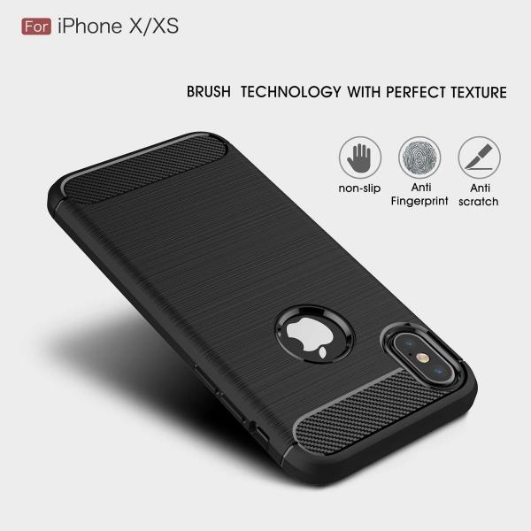 Husa Air Carbon iPhone X, Negru 3