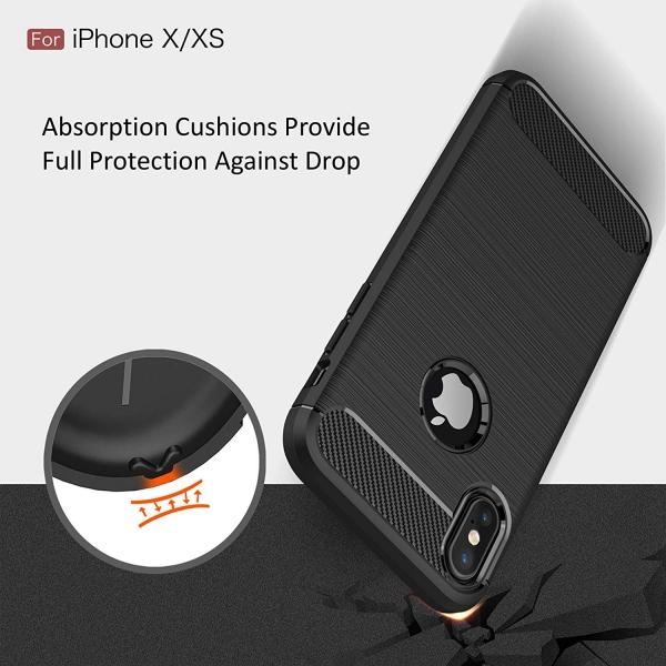 Husa Air Carbon iPhone X, Negru 5