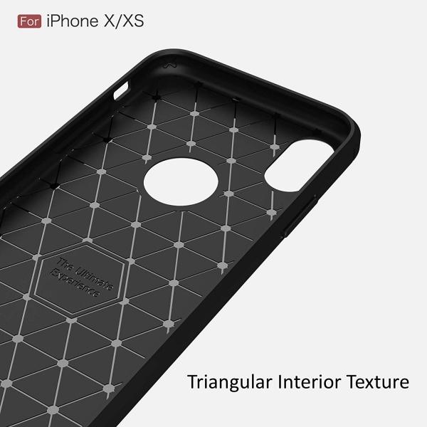 Husa Air Carbon iPhone X, Negru 4