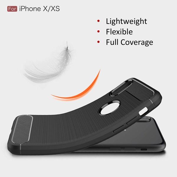 Husa Air Carbon iPhone X, Negru 2