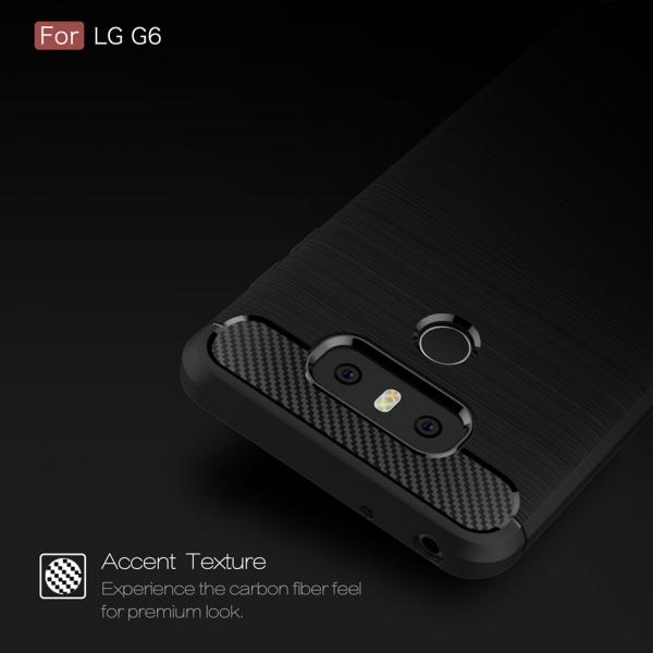 Husa Air Carbon LG G6, Negru 2