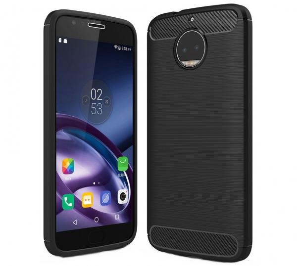 Husa Air Carbon Motorola Moto G5S, Negru [0]