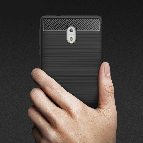 Husa Air Carbon Nokia 3, Negru [1]
