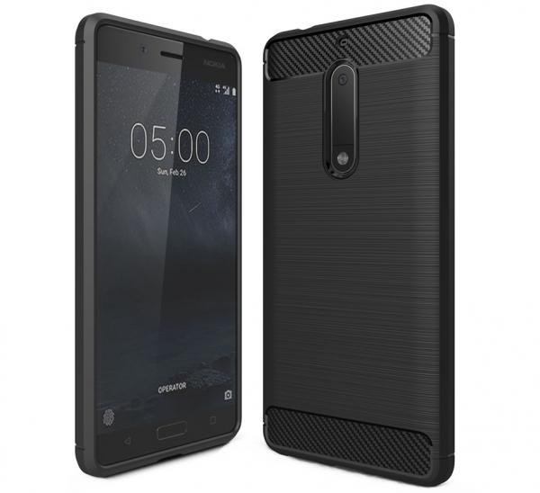 Husa Air Carbon Nokia 5, Negru 0