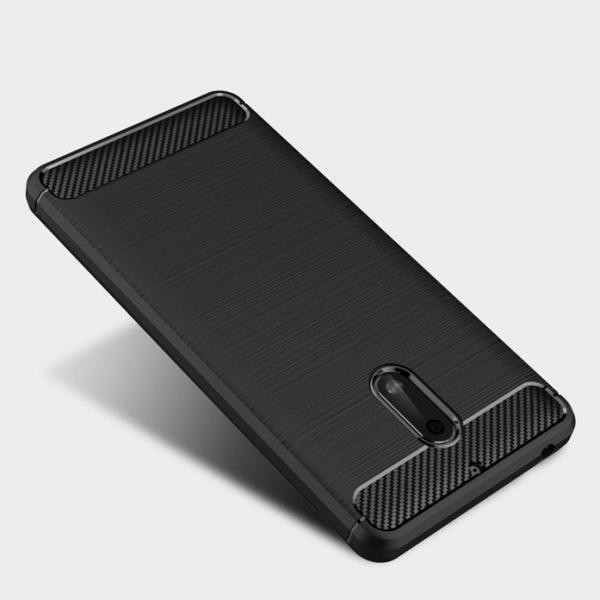 Husa Air Carbon Nokia 6, Negru [1]
