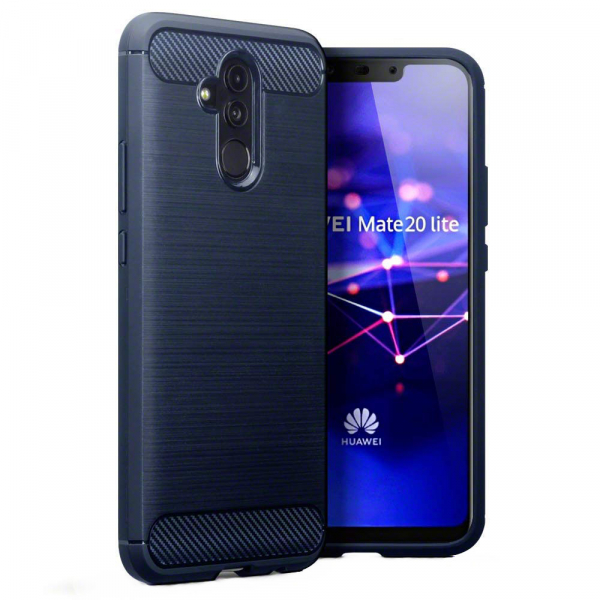 Husa Air Carbon pentru Huawei Mate 20 Lite, Dark Blue [0]