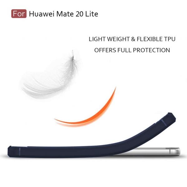 Husa Air Carbon pentru Huawei Mate 20 Lite, Dark Blue [1]