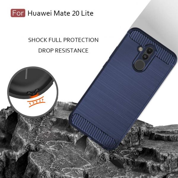 Husa Air Carbon pentru Huawei Mate 20 Lite, Dark Blue [3]