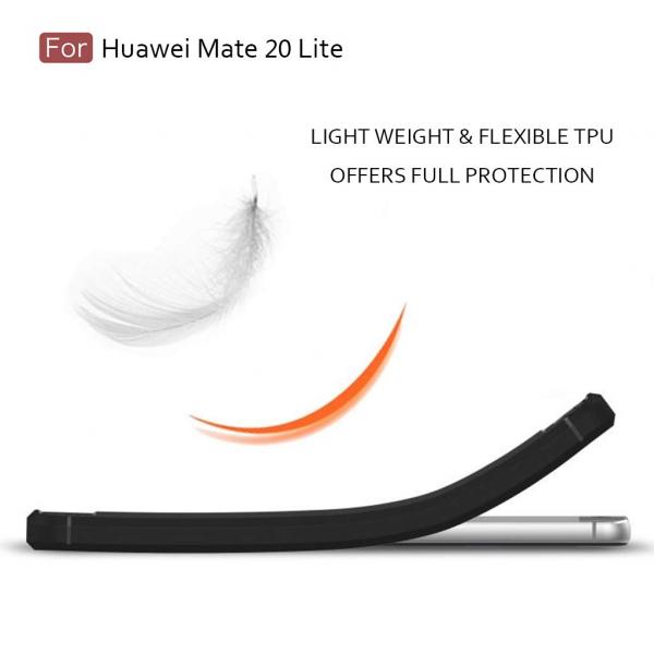Husa Air Carbon pentru Huawei Mate 20 Lite, Negru 3
