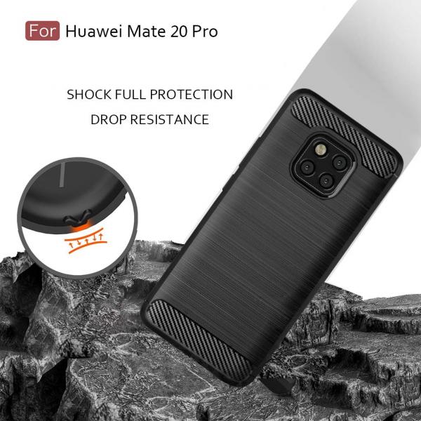 Husa Air Carbon pentru Huawei Mate 20 Pro, Negru 3