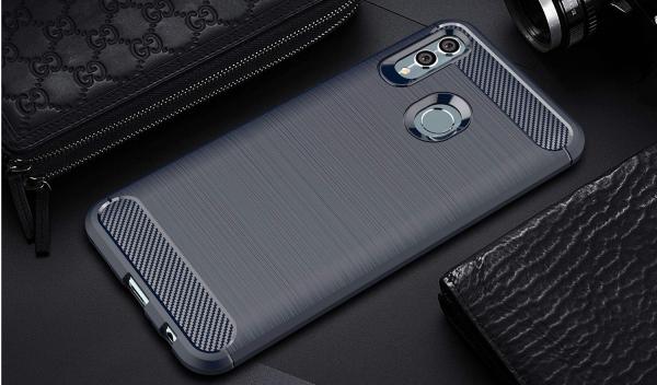 Husa Air Carbon pentru Huawei P Smart (2019), Dark Blue [2]