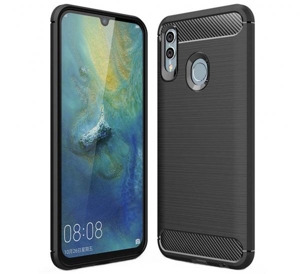 Husa Air Carbon pentru Huawei P Smart (2019), Negru 0