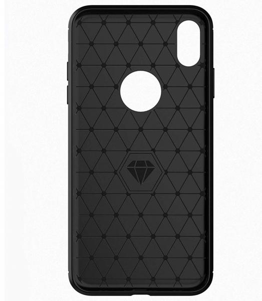 Husa Air Carbon pentru iPhone XS Max, Negru 2