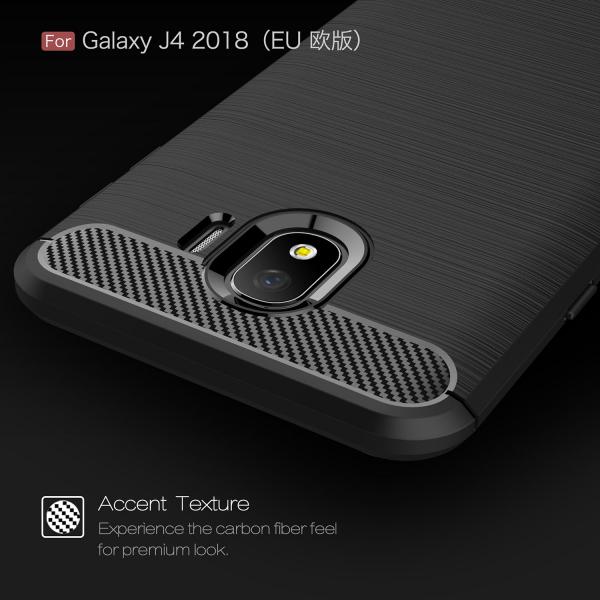 Husa Air Carbon pentru Samsung Galaxy J4 (2018), Negru 4