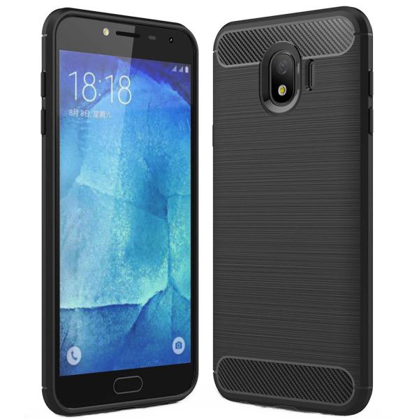 Husa Air Carbon pentru Samsung Galaxy J4 (2018), Negru 0