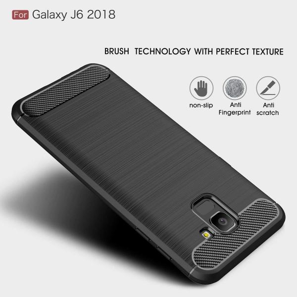 Husa Air Carbon pentru Samsung Galaxy J6 (2018), Negru 4