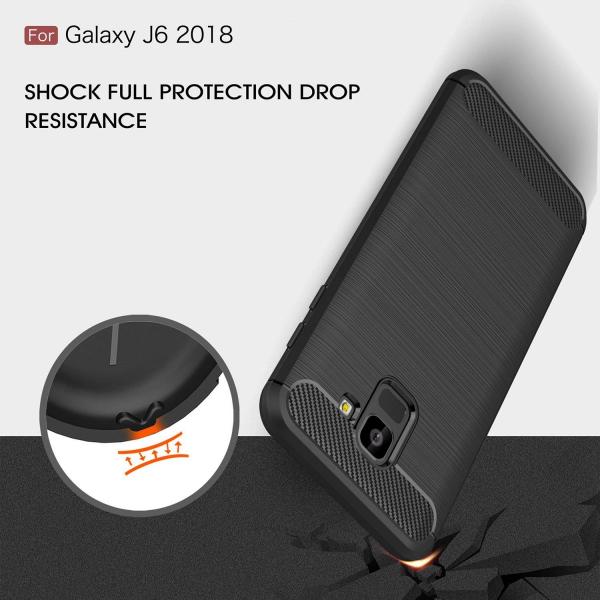 Husa Air Carbon pentru Samsung Galaxy J6 (2018), Negru 5