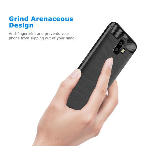 Husa Air Carbon pentru Samsung Galaxy J6 Plus (2018), Negru 5
