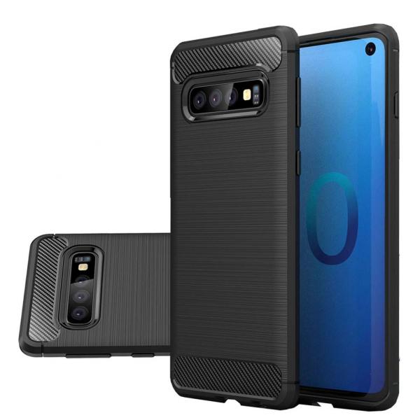 Husa Air Carbon pentru Samsung Galaxy S10, Negru 3