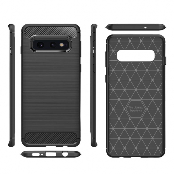 Husa Air Carbon pentru Samsung Galaxy S10e, Negru 1