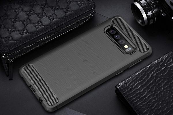 Husa Air Carbon pentru Samsung Galaxy S10e, Negru 2