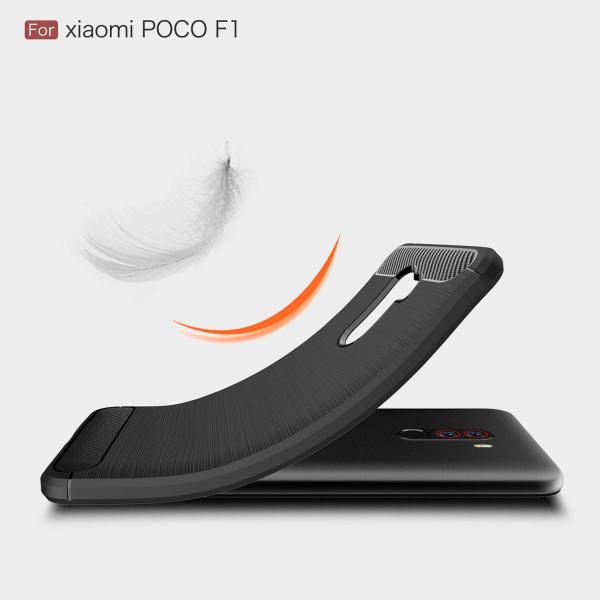 Husa Air Carbon pentru Xiaomi Pocophone F1, Negru 2