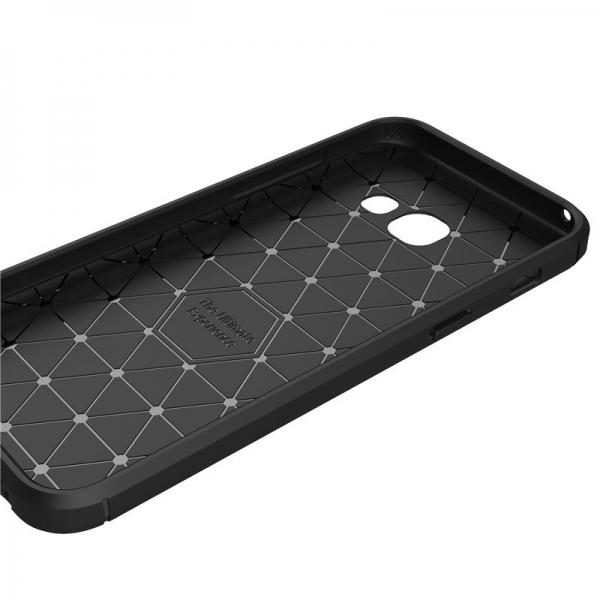 Husa Air Carbon Samsung Galaxy A3 (2017), Negru