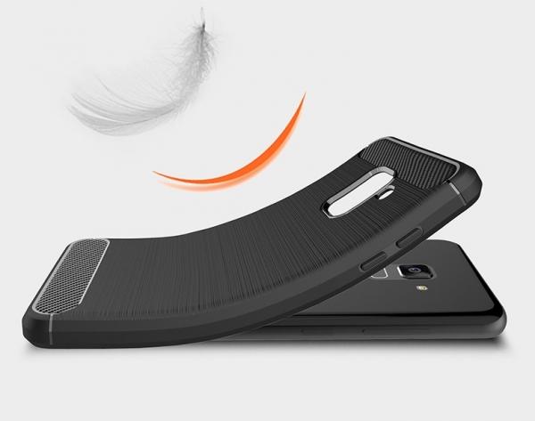 Husa Air Carbon Samsung Galaxy A8 (2018), Negru 1